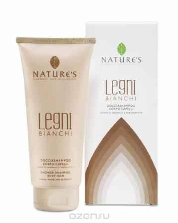 Купить Nature's Legni Bianchi Шампунь и гель для душа, 200 мл