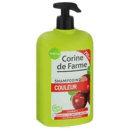 Купить Corine De Farme Шампунь для окрашенных волос с UV фильтрами, 750 мл