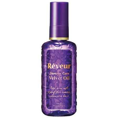 Купить Reveur Масло для волос Velvet Oil Увлажнение и блеск, 100 мл
