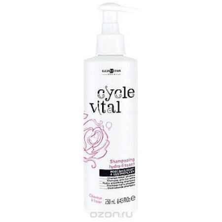 Купить Eugene Perma Shampooing Hydra- Cycle Vital Lissant - Шампунь увлажняющий выпрямляющий для трудноподдающихся укладке волос 250 мл