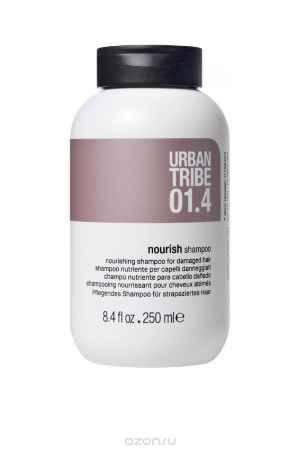 Купить URBAN TRIBE Питательный шампунь для поврежденных волос 250 мл.