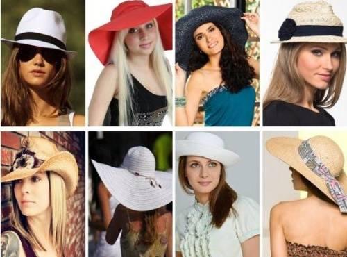 шляпы для женщин