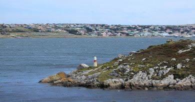 Где находятся Фолклендские острова