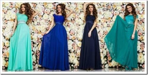 Материалы для платьев
