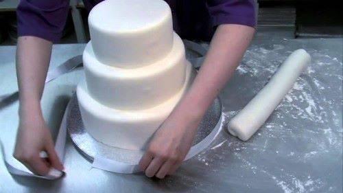 Изготовление свадебного торта
