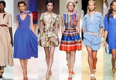 Какие летние платья в моде в 2016г