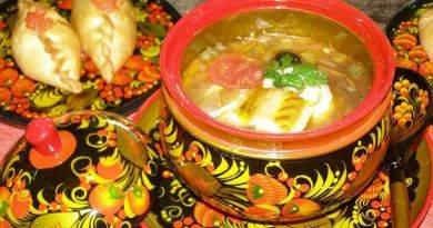 Какой суп популярный в русской кухне