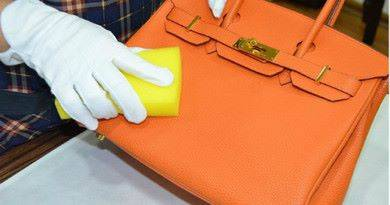 Чистка кожаной сумки