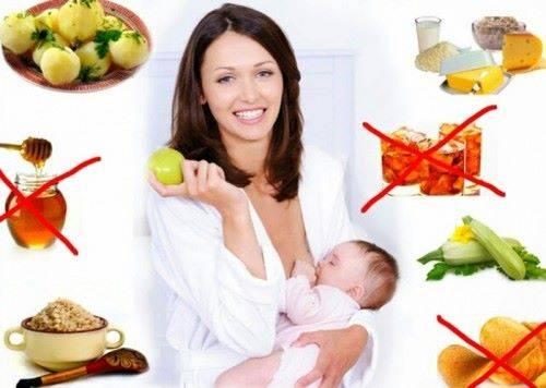 Что можно есть при грудном вскармливании