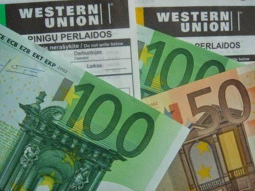 Переводы Western union