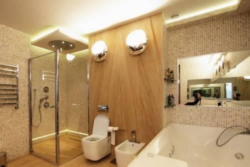 Как подключить светильник в ванной