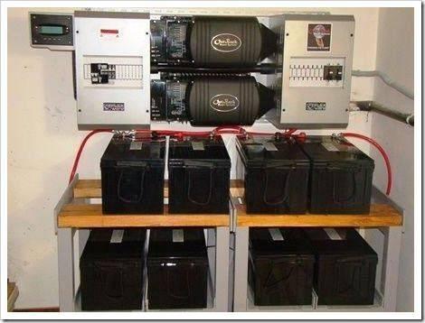 Хранение электроэнергии