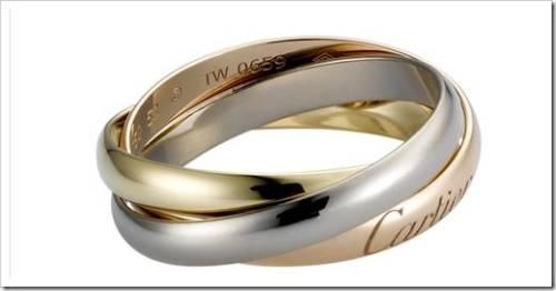 кольцо Trinity от Cartier