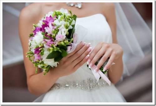Свадебный букет под наряд