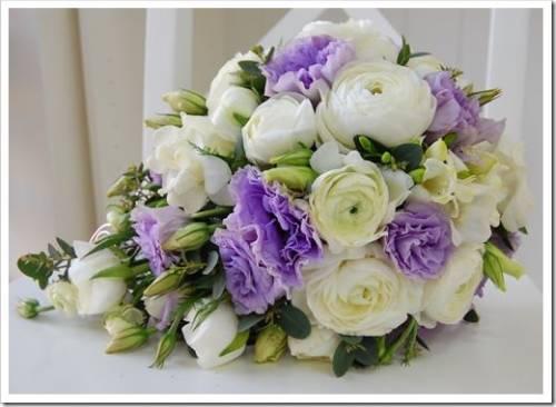 Значение разных цветов в букете невесты
