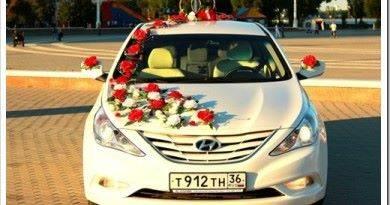 Как украсить свадебный автомобиль своими руками