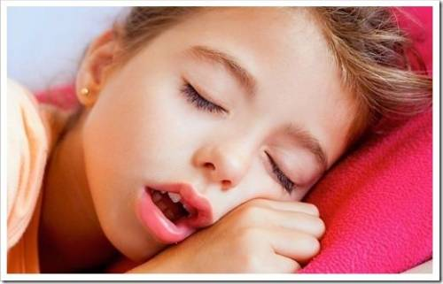 Причины возникновения детского храпа