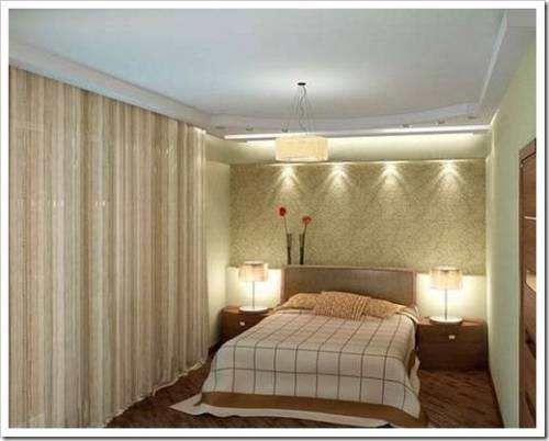 Основные правила выбора осветительного прибора в спальню