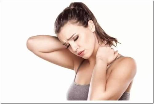 Что делать если болит шея справа