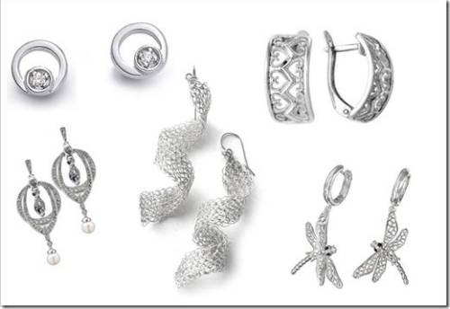 Серебряные серьги: правильный выбор