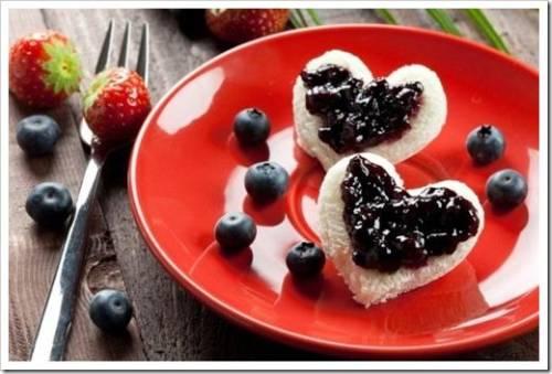 Десерт на 14 февраля