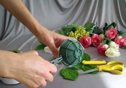 как сделать букет невесты