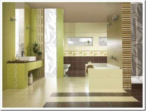 Практичность керамической плитки для отделки ванной