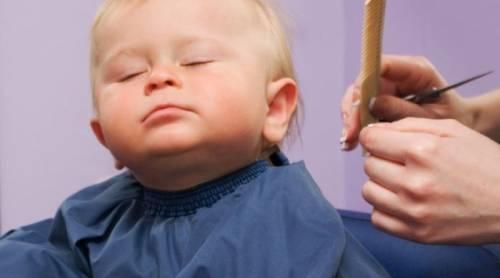 как постричь ребенка