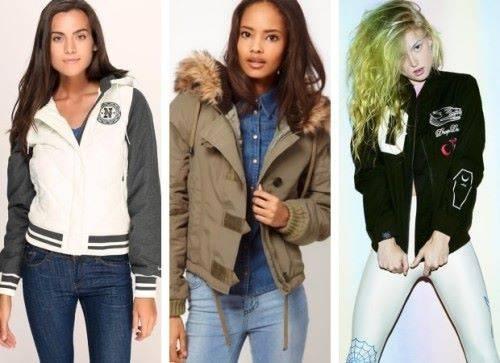 демисезонные куртки для девушек