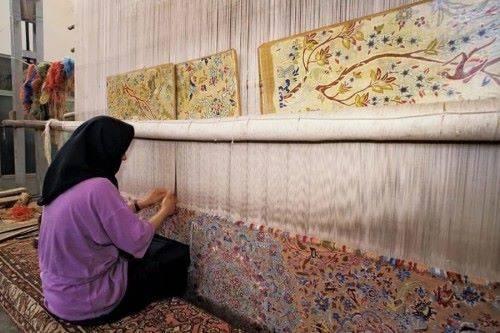 как плетут ковер