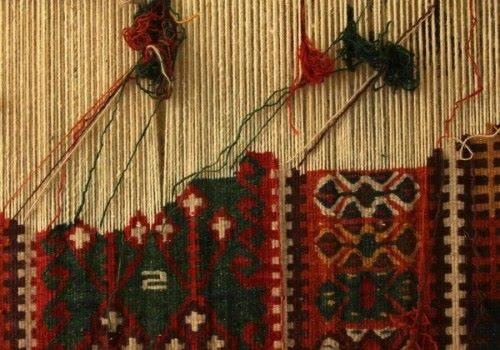 плетение ковра