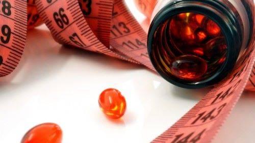 похудение на таблетках