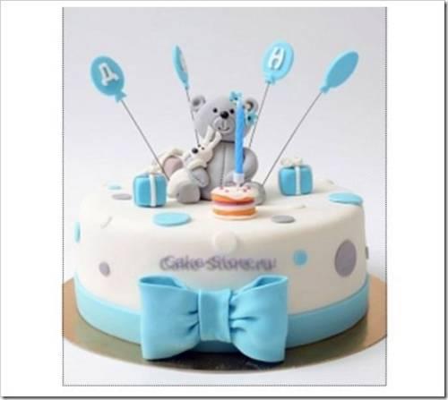 Заказ торта на первый день рождения