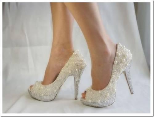 Требования к свадебной обуви