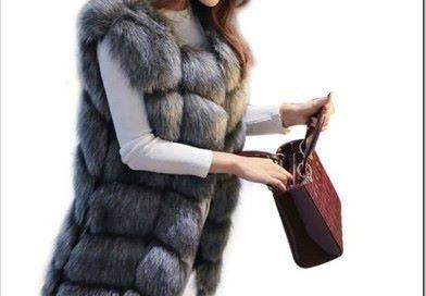 В какую погоду носить меховую жилетку?