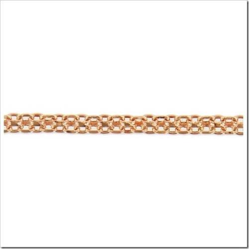 Популярные виды плетения золотых цепочек