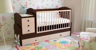 Как собрать детскую кроватку трансформер