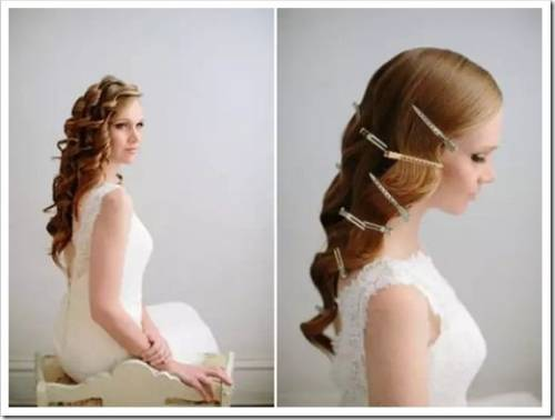 Аккуратные локоны и причёска в стиле ретро