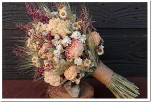 Не все цветы могут быть высушены