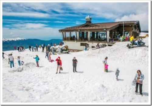 Горнолыжные курорты: без преувеличения лучшие в России на сегодня
