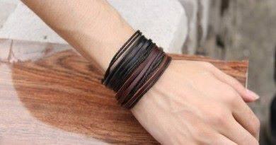 Как сделать браслет из кожи