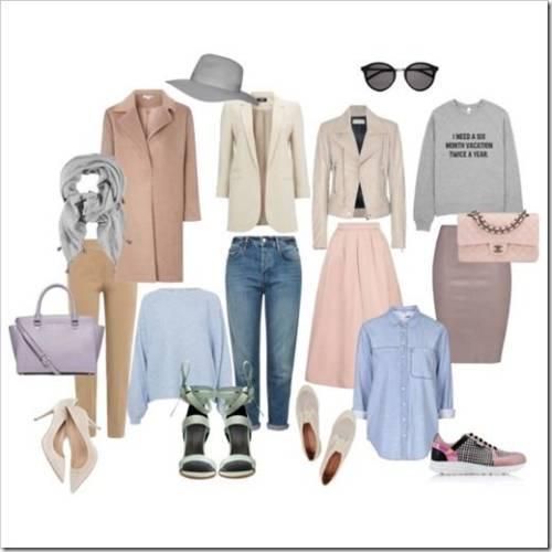Базовый гардероб для девушки 25 лет
