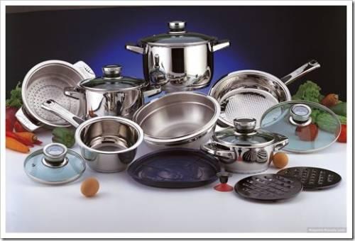 Материал посуды имеет значение
