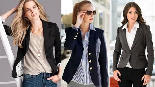 С чем носить женский пиджак