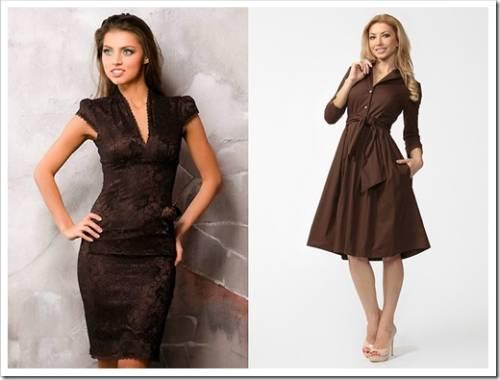 Красивые и элегантные платья для офиса
