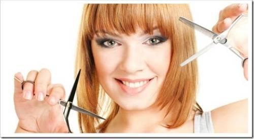 Стрижку осуществляем исключительно на чистых волосах