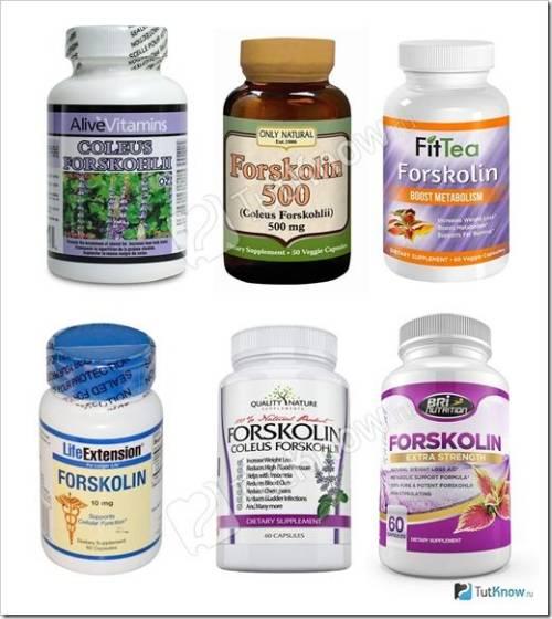 Использование форсколина для похудения