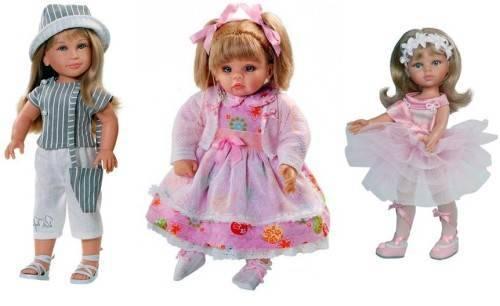 Какие бывают куклы