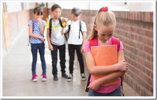 У ребенка в школе нет друзей