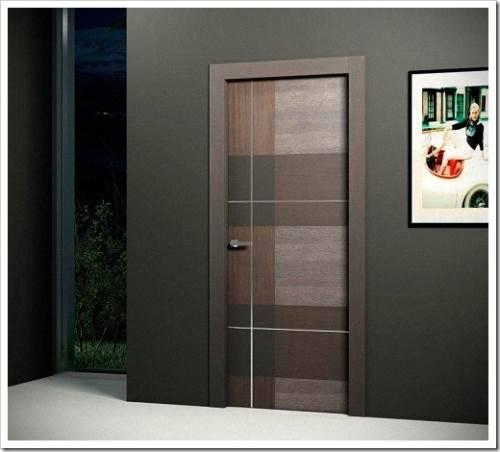 Классификация дверей по типу покрытия